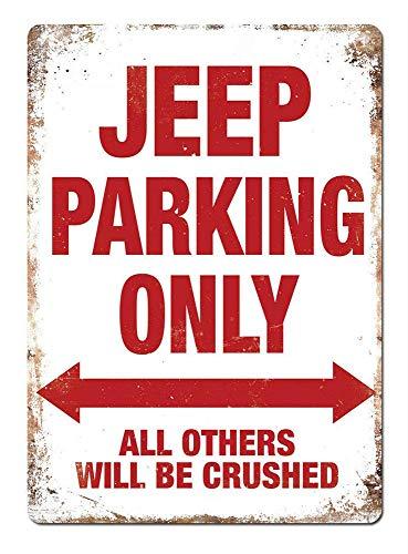 INDIGOS UG Individuell personalisiert Alu-Dibond Parkplatzschild Alle Anderen Werden abgeschleppt Parking Only Parkplatzschild 32x24 cm