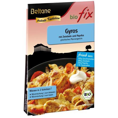 Beltane biofix Gyros - 2 Portionen, 5er Pack  (5 x  17,1 g Packung) - Bio