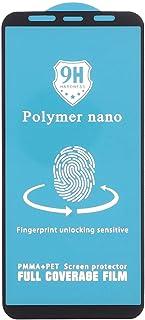 شاشة حماية نانو بوليمر لموبايل سامسونج جالاكسي A7 2018 من دراجون، 6 بوصة - اسود