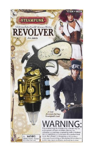 Steampunk Revolver for Fancy dress weapon Accessory