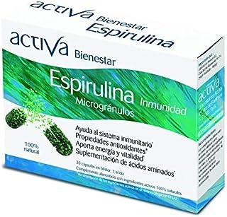 Activa Bienestar Espirulina 30 Caps 400 g