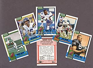 1990 Topps Football Traded Complete Set (Football Set) Dean's Cards 9 - MINT