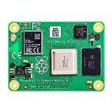 Raspberry Pi Módulo de cómputo 4 con 1 GB/2GB/4GB/8GB RAM Lite/8GB/16GB/32G eMMC Flash opcional Soporte Wifi/Bluetooth y antena externa (32G eMMC, 4GB RAM)