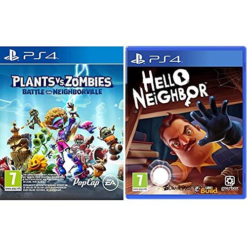 Plants vs Zombies : La bataille de Neighborville pour PS4 & Hello Neighbor