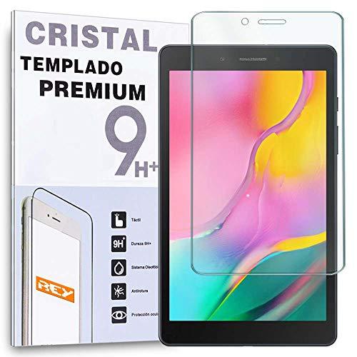 REY Protector de Pantalla para Tablet Samsung Galaxy Tab A WiFi 2019 8' T290, Cristal Vidrio Templado Premium