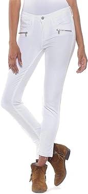 Le Temps des Cerises Kiev Power Skinny 7/8ème Jeans Blanc