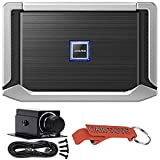Alpine X-A70F X-Series 4/3/2 Channel Power Density Amplifier and RUX-KNOB.2 Driver's Seat Bass Gain Remote Controller Bundle