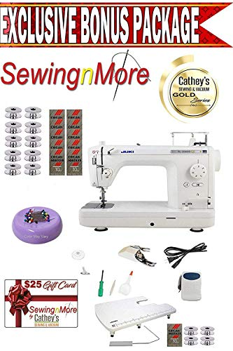Juki TL-2000Qi 9' Long-Arm Sewing and Quilting Machine w/Exclusive Gold Series Bonus Package!