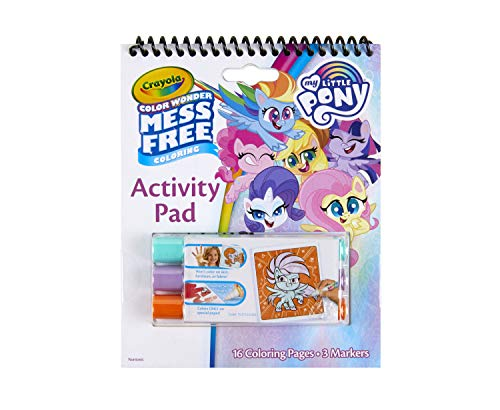 Crayola My Little Pony Color Wonder Activity Pad, Mess Free Coloring, Gift for Kids