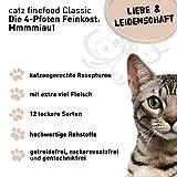 Catz finefood Katzenfutter Multipack - 4