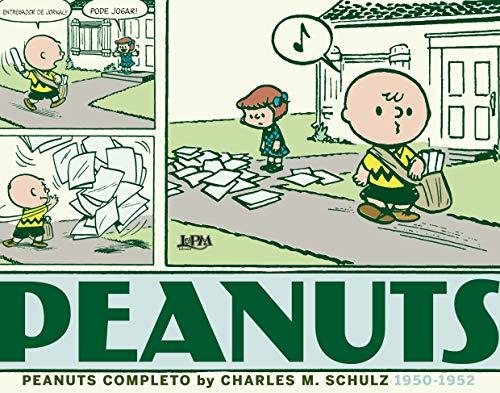 Peanuts completo: 1950 a 1952 - vol. 1: capa brochura