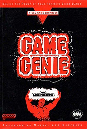 Game Genie Video Game Enhancer Programming Manual and Codebook Sega Genesis - Edition 1A (Book Only, No Cartridge)