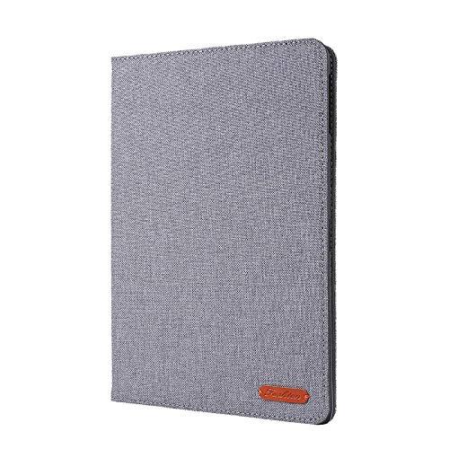 YYLKKB para Samsung Tab A 10 1 2019 Case Cowboy Flip Stand Cover Funda para Samsung Galaxy Tab A 10.1 2019 SM-T510 SM-T515 Auto Wake Sleep Tablet Funda-Gris