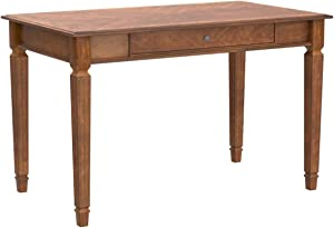 Signature Design by Ashley Hamlyn Home Office Small Leg Desk Medium Brown