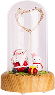 Home Decoration Beauty and Beast Magic Rose, Wireless Bluetooth Speaker Red Silk Rose and LED Light Glass Dome Wooden Base, Suitable, Valentine's Day, Wedding Anniversary, The Best Gift for her