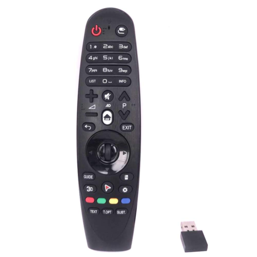 Mando a distancia para TV AM-HR600 de ABS universal para LG AM-HR650 USB, para Smart TV, color negro: Amazon.es: Hogar