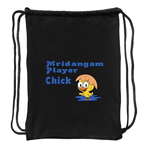 Eddany Mridangam Player Chick Turnbeutel