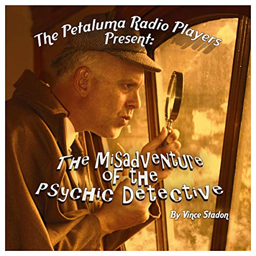 The Misadventure of the Psychic Detective audiobook cover art