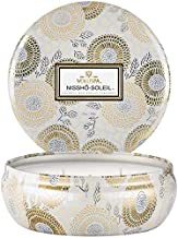 product image for Voluspa Nissho Soleil 3 Wick Tin Candle, 12 Ounces