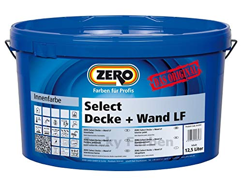 ZERO Select Decke + Wand LF weiß NEU 12,5 l