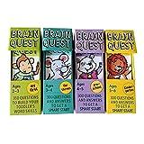 Brain Quest Englische Version der Intellectual Development Card Sticker Books Fragen und Antworten Karte Smart Start Child Kids