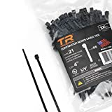 TR Industrial Contractor Series UV Cable Ties (100-Piece), 4', Type 21, Made in USA