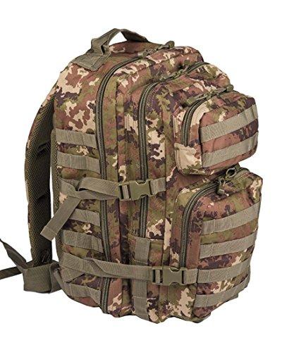 Mil-Tec Military Army Patrol Zaino da assalto 36L MOLLE, tattico e da pattuglia, vegetato