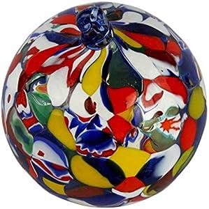 Bola de Navidad – Mezcla de manchas fantasía – Cristal de Murano Navidad