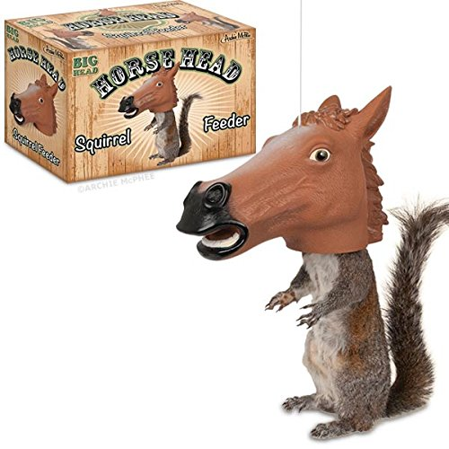 Accoutrements Horse Head Squirrel Feeder .#GH45843 3468-T34562FD172757