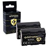 PATONA 2X Protect Bateria NP-W235, Sensor de Temperatura NTC, Carcasa V1 Compatible con Fuji Fujifilm X-T4
