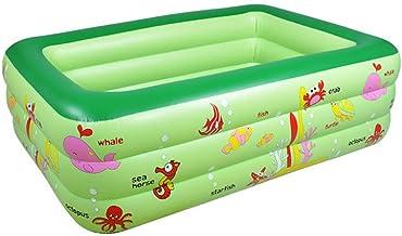 Piscina hinchable,piscina rectangular,piscina para bebés rectangular con piso inflable suave,fondo grueso resistente al desgaste,válvula independiente de una sola capa,diseño de aumento de drenaje