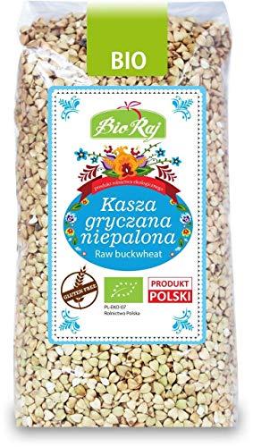 UNROASTED BUCKWHEAT Gluten Free BIO 500 g - BIO RAJ