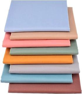 "ZGXY Fabric, 8 pcs/lot Fat Quarter Fabric Bundles Top Cotton 20"" x 20"" (50cm x 50cm) Quilting Cotton Craft Fabric, Pre-Cut..."