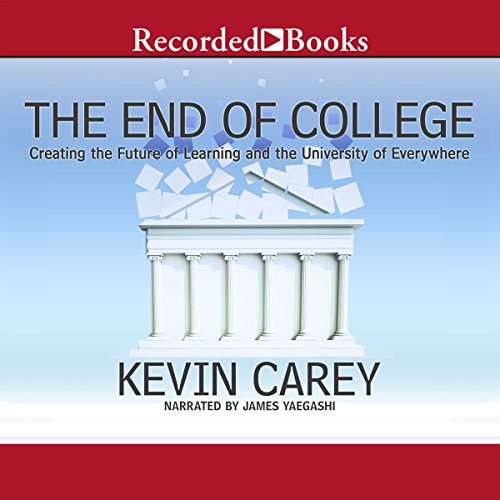 The End of College audiobook cover art