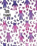 2019 Planner: Star Bear 12 months 365 days Calendar Schedule, Appointment, Agenda, Meeting