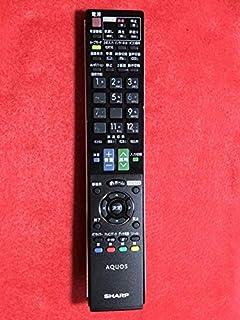 シャープ 液晶テレビ(AQUOS) 純正リモコン GA912WJSA (0106380333)