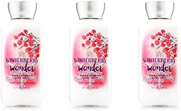 Bath & Body Works Winterberry Wonder Body Lotion - Lot of 3