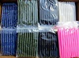 Z New 50pc Assortment 5.5' SENKOS Style Bass Fishing Lures, Worms Pro Soft Stickbaits.USA!