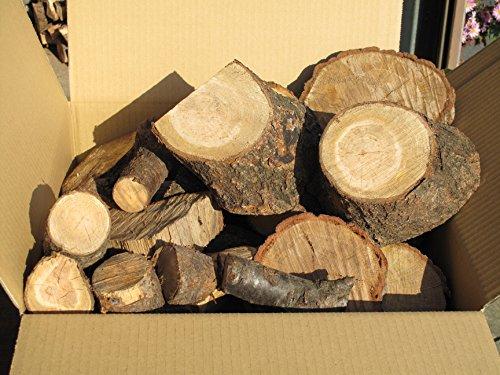 乾燥済【箱に満タン】 コロ薪・端材 (広葉樹) 120サイズのダンボール箱入り 重量:23kg前後 【長野県産】