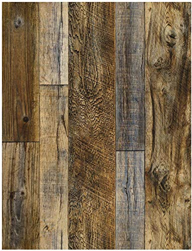 木目壁紙 厚い 木目調 壁紙 シール リメイク シート リフォーム ウォール ステッカー カッティング 剥がせ...