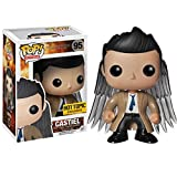 Funko Pop Television : Supernatural - Castiel with Wings (Exclusive) 3.75inch Vinyl Gift for TV Fans...