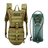 vAv YAKEDA Tactical Hydration Pack Backpack with 2.5L TPU Water Bladder Military Water Backpack for Hiking,Cycling,Running
