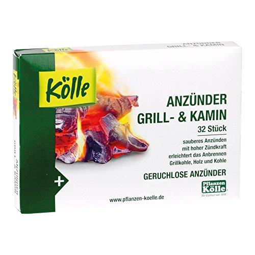 Kölle Anzünder Grill und Kamin, aus Paraffin 32 Stück