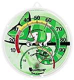 Lantelme Terrarium Kombi Thermometer Hygrometer Reptile Terrarien Temperatur Luftfeuchte Analog