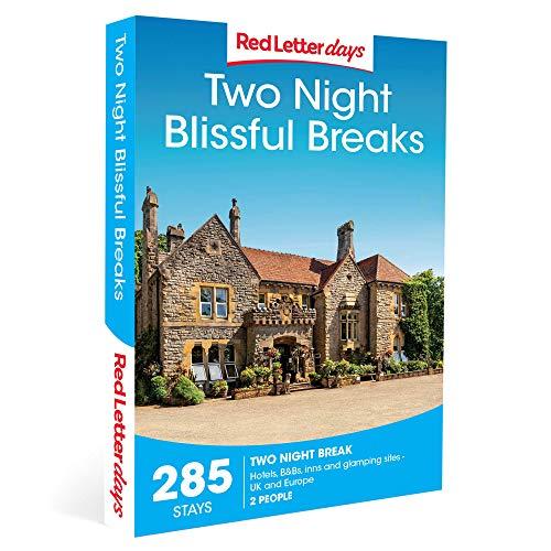 Red Letter Days Two Night Blissful Breaks Gift Voucher – 285 charming UK breaks