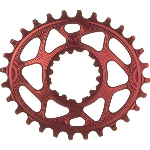 absoluteBLACK SRAM Ovale Boost148 Direct Mount Traction Kettenblatt, rot, 3 mm gekröpft, 34 t