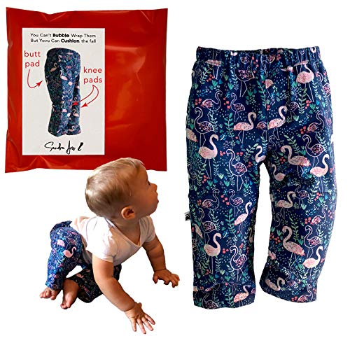 Sandra Aris Padded Pants for Toddlers, with Butt and Knee Pads, Baby...