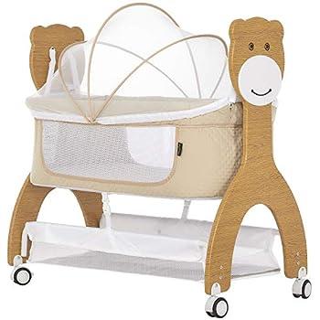 Dream On Me Cub Portable Bassinet in Beige Crib