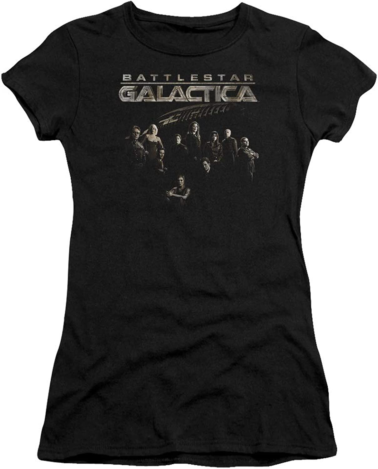 Battlestar Galactica  Juniors Battle Cast Premium Bella TShirt