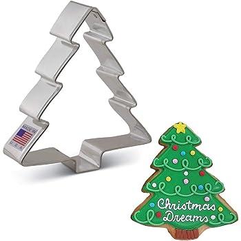 "Ann Clark Cookie Cutters Christmas Tree Cookie Cutter, 4"""